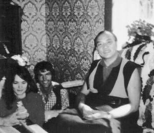 Il XVI Karmapa con Ole e Hannah Nydahl