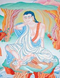 Il grande yogi tibetano Milarepa